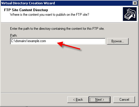 FTP directory