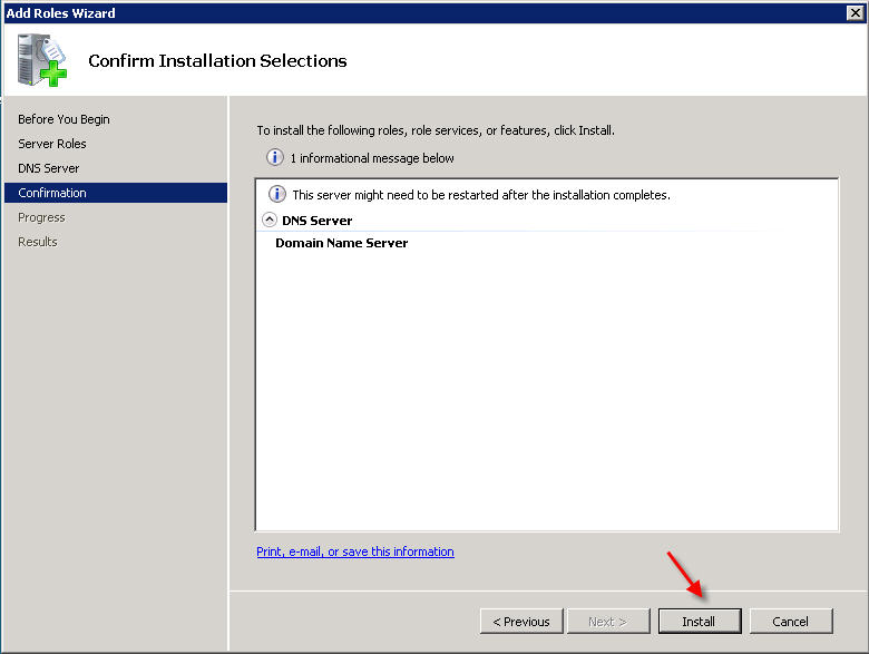 How to Install and Configure DNS on Windows 2008 Server