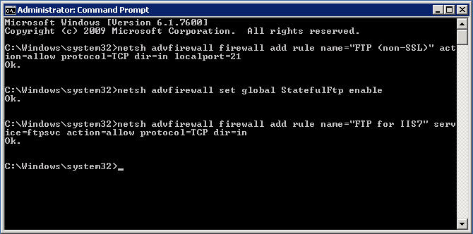 How to create an FTP user in Windows Server 2008 - Applied