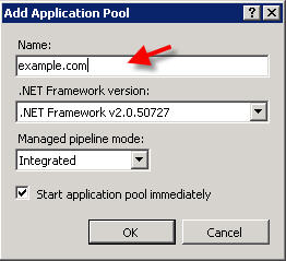 Application Pool