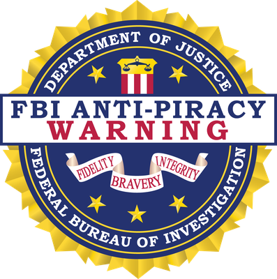 On August 13, 2012, a new federal regulation governing the FBIas Anti-Piracy Warning Seal authorizes use of this seal by all U.S. copyright holders.