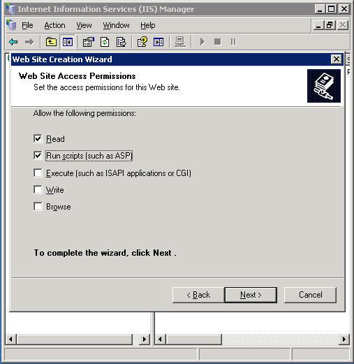 access permissions