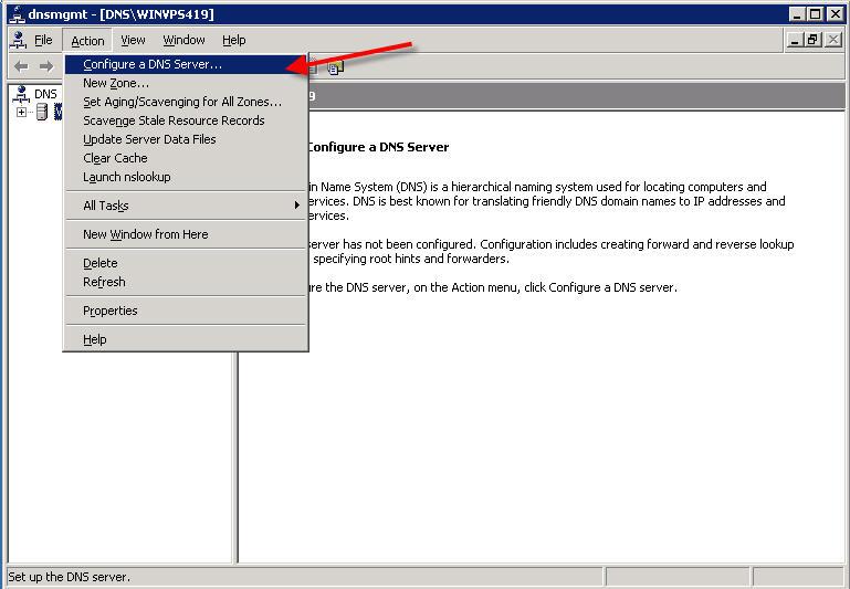 Configure a DNS Server